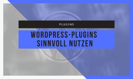 Installation und Nutzung von WordPress-Plugins 3