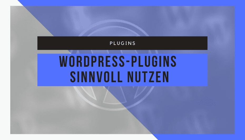 Installation und Nutzung von WordPress-Plugins 1