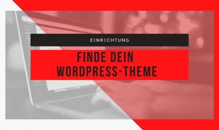 Die Suche nach dem WordPress-Theme 2