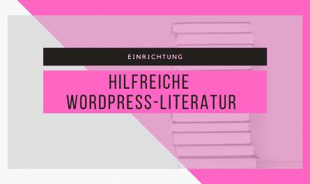 Hilfreiche WordPress-Literatur 4